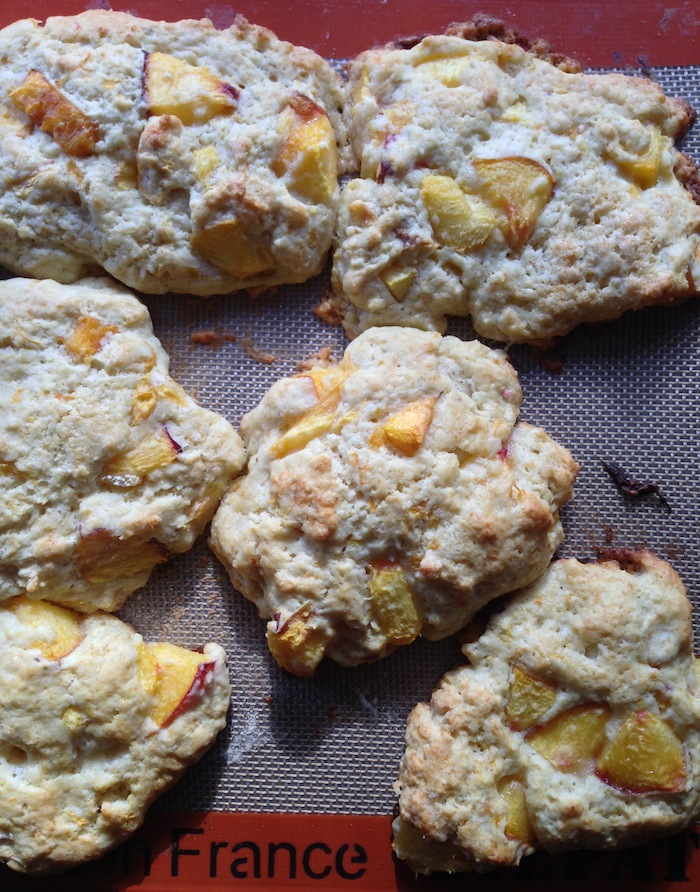 Cupcakes for Breakfast: Summer Peach Scones
