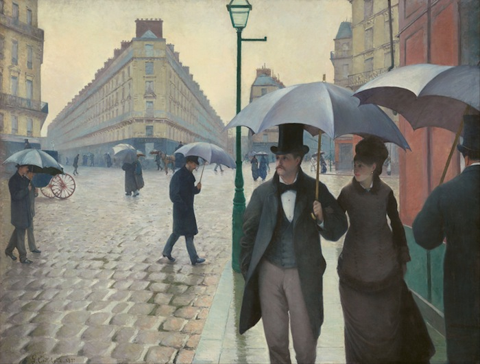 Gustave Caillebotte Paris Street Rainy Day