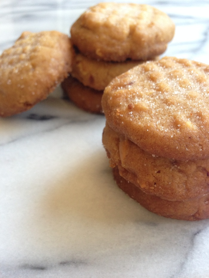 Cupcakes for Breakfast: brown butter peanut butter cookies