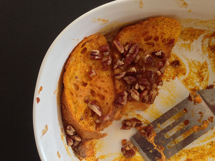 Cupcakes for Breakfast: Pumpkin Pecan French Toast
