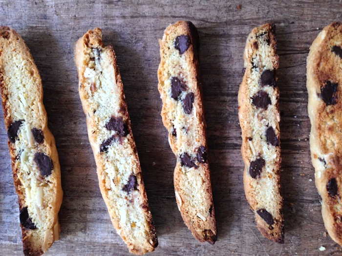 Cupcakes for Breakfast: Dark Chocolate, Orange, Almond Biscotti