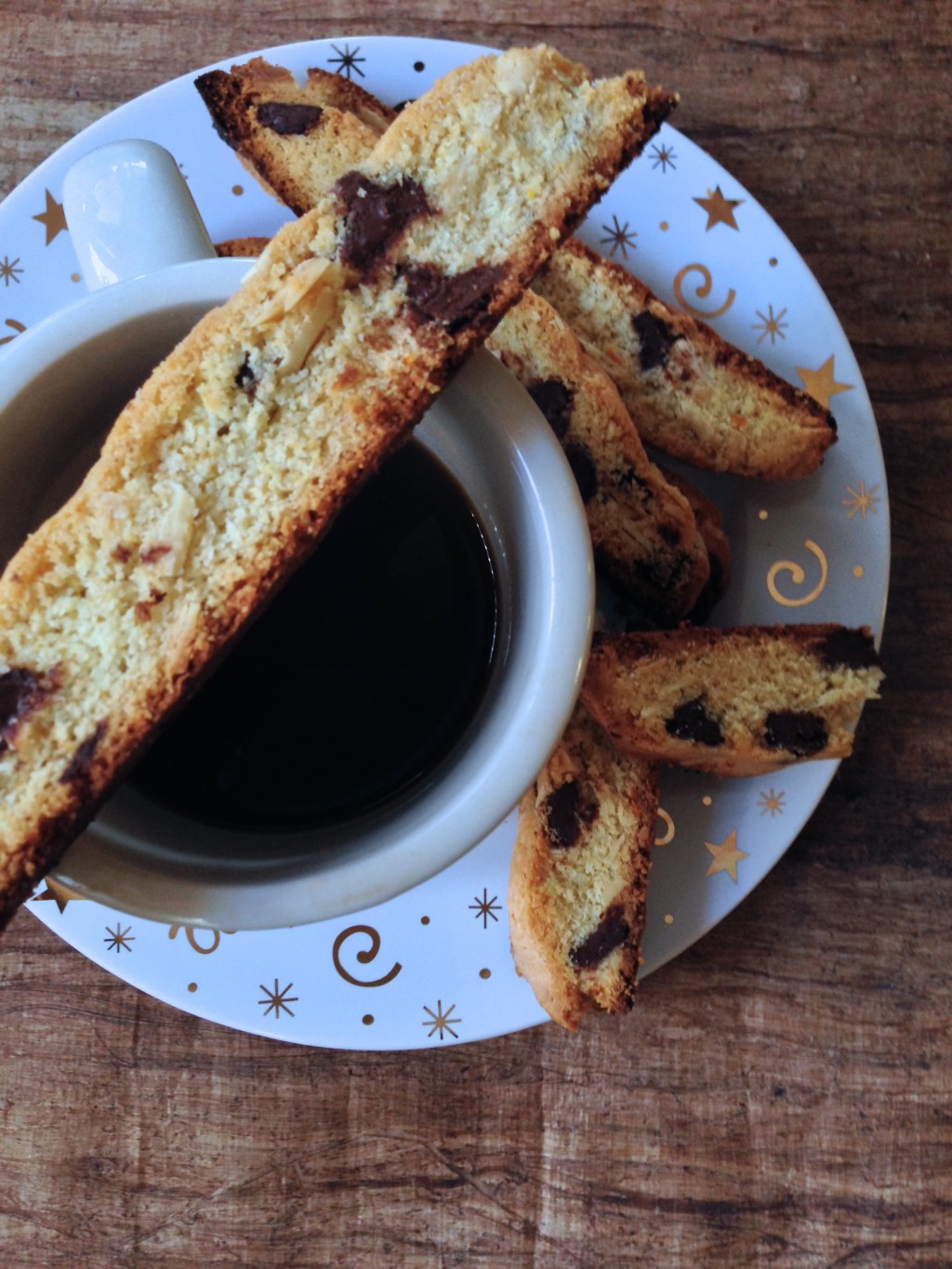 Chocolate Orange Biscotti With Almonds Recipes — Dishmaps