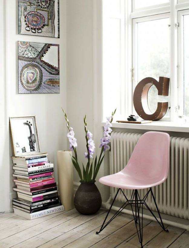 Cupcakes for Breakfast: Blush Pink chair