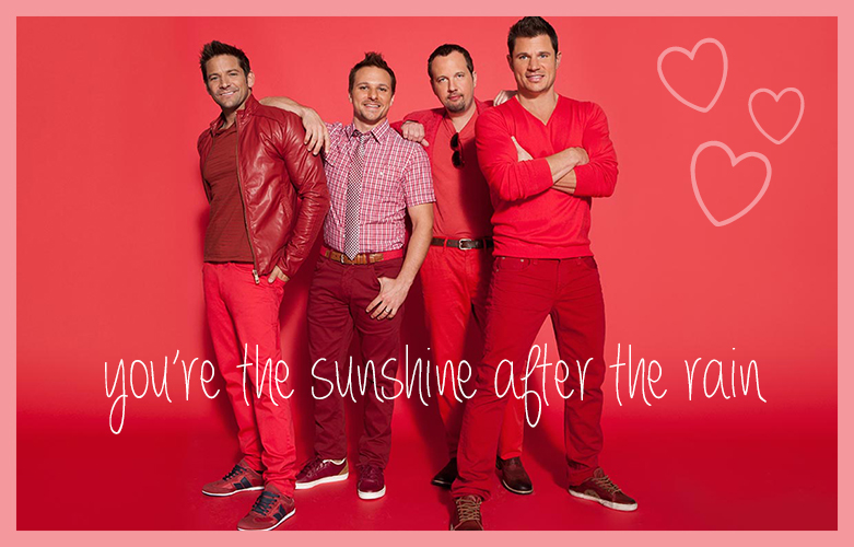 Cupcakes for Breakfast: Teenybopper Valentines - 98 Degrees