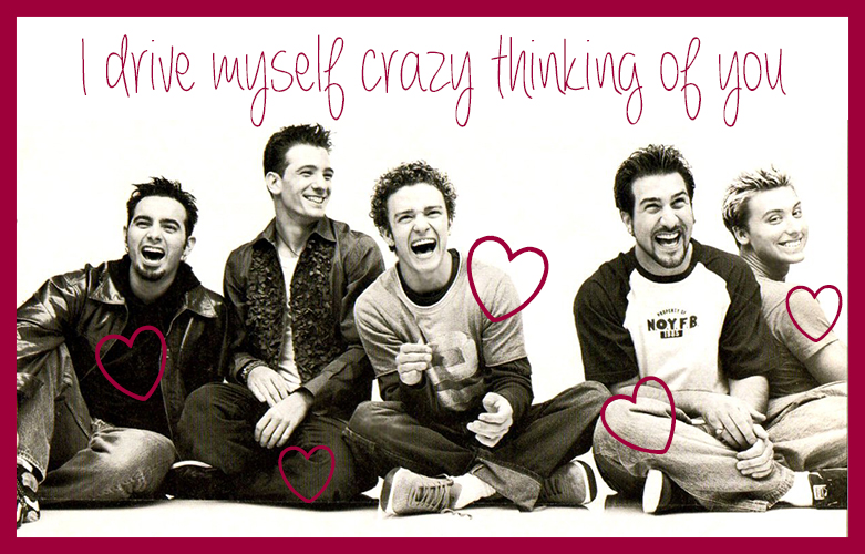 Cupcakes for Breakfast: Teenybopper Valentines - NSYNC