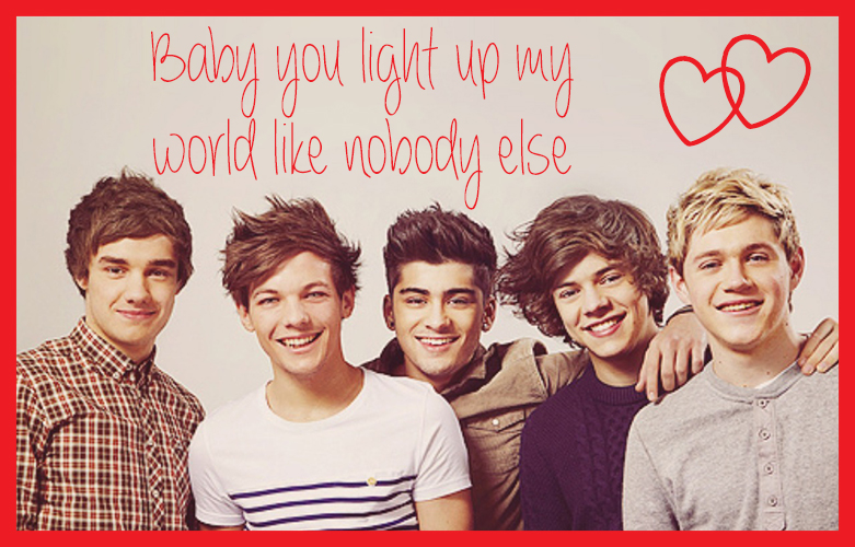 Cupcakes for Breakfast: Teenybopper Valentines - One Direction