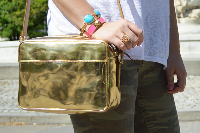Cupcakes for Breakfast: Boden Mya gold bag