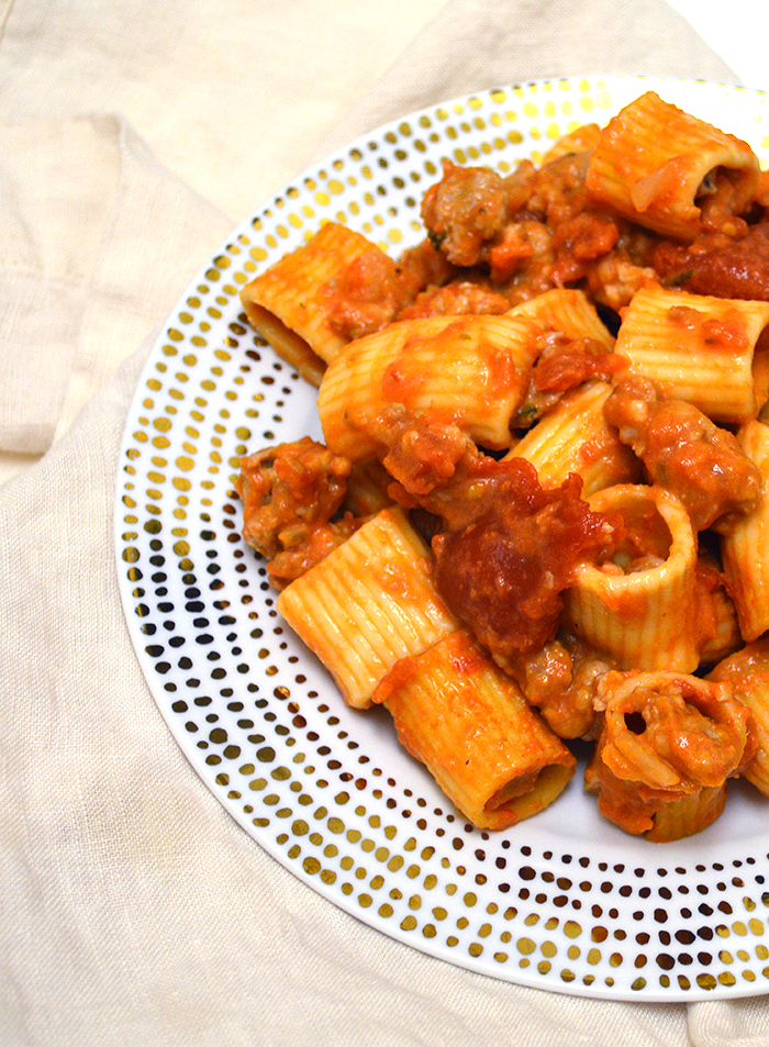 Rigatoni With Mushroom Ragu, Fresh Mozzarella, And Truffle Recipes ...