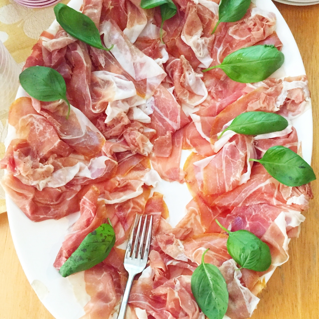 Taste of Summer: proscuitto